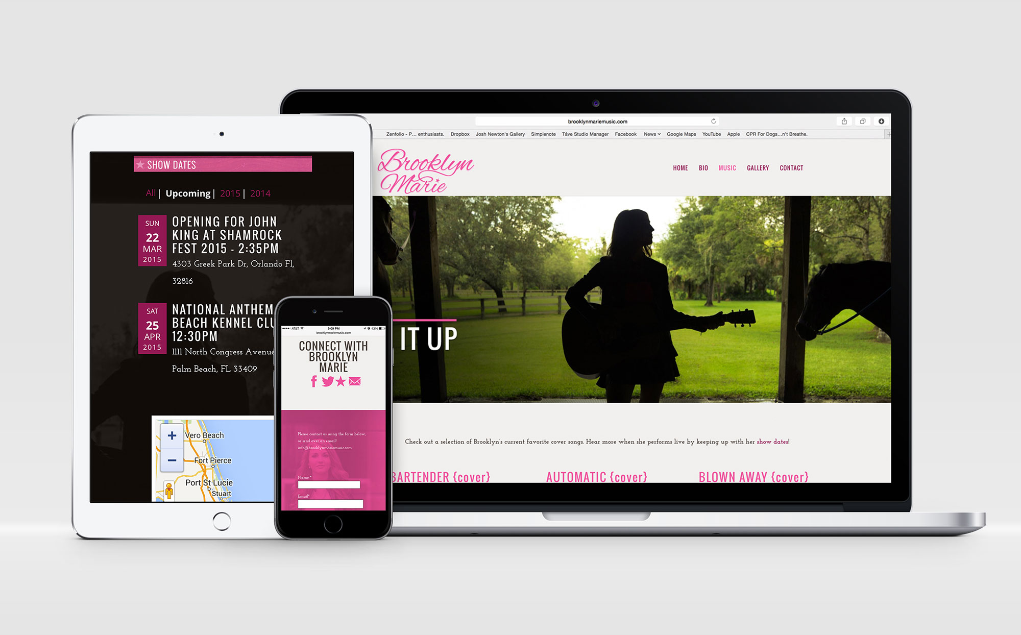 Brooklyn Marie Music Website