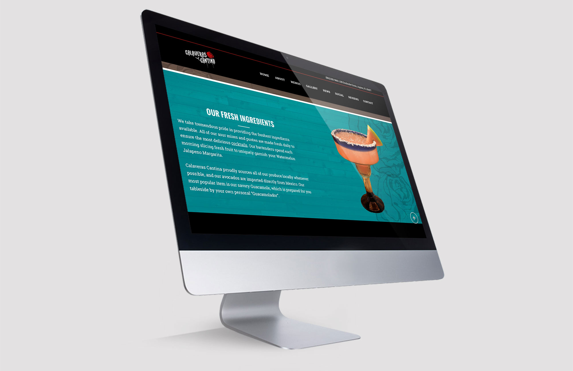 Boynton Beach Restaurant Web Design