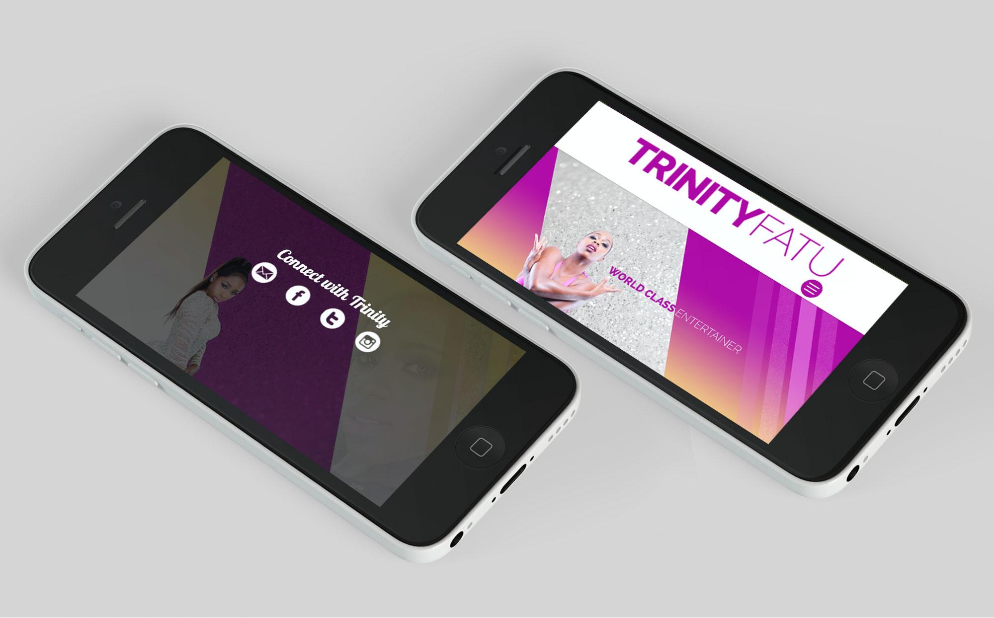 trinity fatu mobile responsive website designers