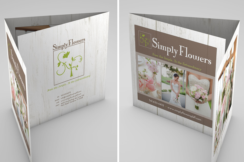 simply flowers | palm beach gardens web design